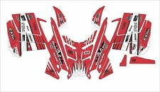 POLARIS RUSH PRO RMK  ASSAULT 120 144 155 163 hood wrap kit DECAL tunnel red h