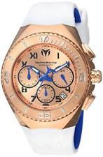TechnoMarine 215077 40mm Ocean Manta Quartz Chronograph Silicone Men's Watch