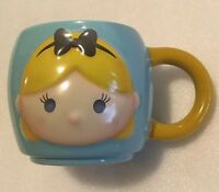 Authentic Disney Store Tsum Tsum ALICE In Wonderland 16 Oz Ceramic Mug Cup