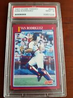1991 Score Traded Ivan Rodriguez HOF Rookie #82T ~ PSA 9 MINT!!