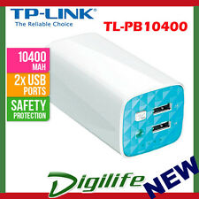 TP-Link TL-PB10400 Portable USB Power Bank 10400mAh mobile battery charger