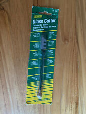 "Fletcher 01-122- ""Gold Tip"" Glass Cutter, 130 Cutting Angle, Tapping Ball - New!"