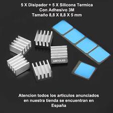 5x Disipador de Calor Pololu A4988 / A4983 Aluminio reprap 3D Heatsink printer