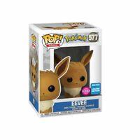 Pokemon - Eevee Flocked US Exclusive Pop! Vinyl [RS]-FUN46315-FUNKO