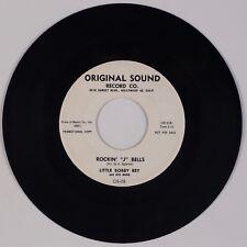 "LITTLE BOBBY REY: Rockin' J Bells '59 Original Sound Christmas Rock 7"" 45 MP3"