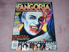 FANGORIA # 308, Dracula 3D, American Horror Story, Argento, FREE SHIPPING in USA