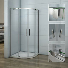 1950mm Hight 900x900mm Quadrant Shower Enclosure Stone Tray Walk In Screen Door