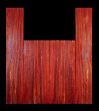 Padauk Rainbow Dreadnaught Size Acoustic Guitar Tonewood Back and Sides Set -PD6