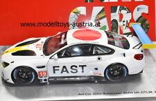 BMW M6 GTLM 2017 Daytona SPENGLER / FARFUS / AUBERLEN 1:18 ART CAR BALDESSARI