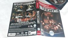 Def Jam Fight for New York PS2 Greatest Hits cover art only, damaged