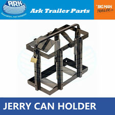 Ark Jerry Can Holders Black Steel Security Pad Lock Top Loading 20L
