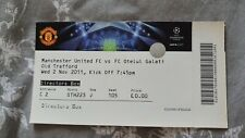 Football ticket Manchester United - Otelul Galati