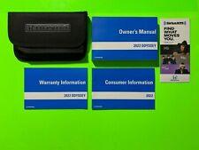 New listing 2022 Honda Odyssey Factory Owners Manual Set & Case *Oem*