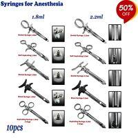Quirúrgicas Dentales Anestesia Jeringas Self Aspirating Syringes for anesthesia