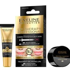 Eveline Lip Therapy Sugar Lip Scrub + Hyaluronic Lip Filler Duo Lips Treatment
