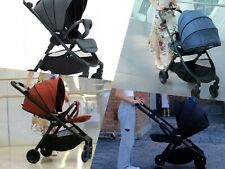 Baby Stroller W/Carseat 3 in 1 Lightweight Pram Pushchair High Landscape 2 Way