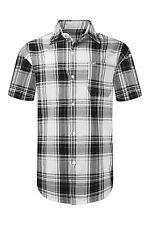 NEW Men Button Up Shirt BIG & TALL L-8XL Striped Plaid Short Sleeve 8 Colors