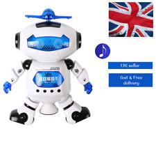 Kids Electric Walking Dancing Toy Robot for Boys Girls age 3 4 5 6 7 8 9 10 UK