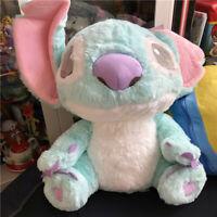 NEW Disney blue sitting Stitch Plush Soft Stuffed Toy Large