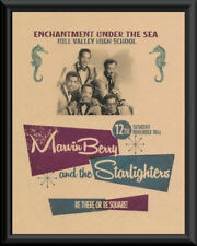 Back To The Future Enchantment Under The Sea Dance Poster On Old Paper *148