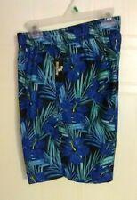 Boy/'s Swim Trunks by OT Revolution 12//14 Size: L Black with Floral Print