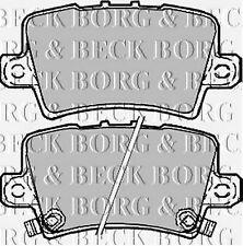 BBP1947 BORG & BECK REAR BRAKE PADS fits Honda Civic VIII 06-  NEW O.E SPEC!