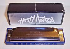 Vintage Post Ww2 Koch Harmonica Tuned to C Made In West Germany