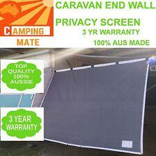 END WALL Caravan POP TOP Privacy 100% Aussie Premium screen 1820 x1800mm