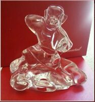 "BACCARAT CRYSTAL 6"" MONKEY CHINESE NEW YEAR BELLAGIO ZODIAC FIGURE PAPERWEIGHT"