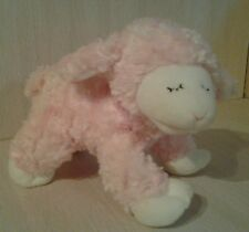 Gund Baby Plush Winky Rattle Plush Lamb Sheep Pink NWOT