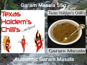 Garam Masala 55g Authentic. 15 Spices.  Amazing taste & Aroma.