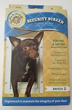 Security Screen Small Pet Door - White