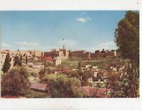 Jerusalem Citadel & Ancient City Wall Israel Vintage Postcard 349b