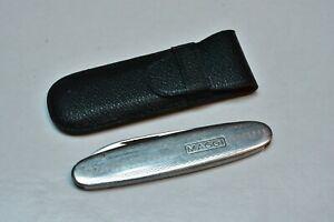 Vintage Christians Solingen German Folding Pocket Knife Steel Handle