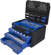 Kobalt 227-Piece Standard (Sae) and Metric Mechanic's Tool Set Hard
