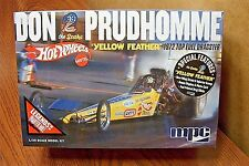 "MPC DON the SNAKE PRUDHOMME ""YELLOW FEATHER"" TOP FUEL DRAGSTER 1/25 SCALE KIT"