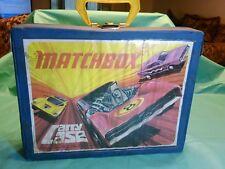 Vintage Matchbox Carry Case 1971 Lesney  48 Cars Trucks