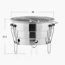 Grill Barbecue Bbq Camping Charcoal Stove Fire Pit Camping Accessories Cooking