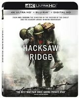 Hacksaw Ridge [New 4K UHD Blu-ray] With Blu-Ray, 4K Mastering
