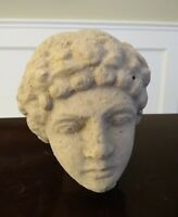 Ancient Style Roman Female Terracotta Bust - ITALY - 19th Century or Earlier