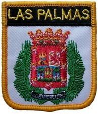 Las Palmas Spain Shield Embroidered Patch