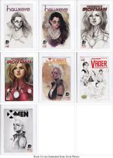 Searchlight Comics Marvel Female Hero Cover Phantom Variant Comics 7 Book Bundle