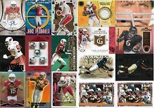 Lot of Arizona Cardinals football cards - 70 different - 90 total - 1990-2016