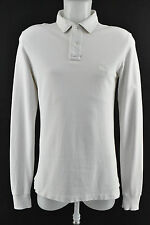 Burberry Brit Casual Shirt Long Sleeve Collared White Size S