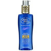 Zero Frizz Keratin Corrective Extra Strength Hair Serum 5 oz (Pack of 2)