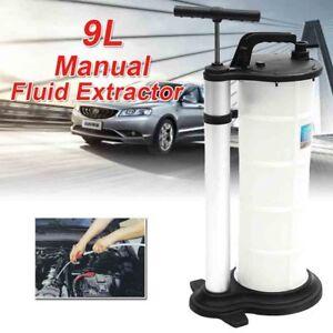 9L Oil Suction Fluid Liquid Extractor Engine Removal Transfer Vacuum Hand Pump