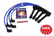 97-01 HONDA PRELUDE DOHC VTEC H22 NGK SPARK WIRES SET WITH IRIDIUM PLUGS EMBLEM