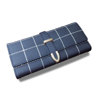 AOEO wallet female multifunctional long clutch Girls with zipper card holders ce