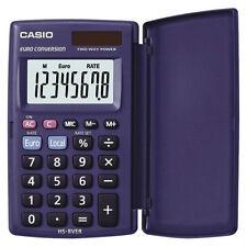 Casio HS8VER Pocket Calculator 8 Digit Display Two Way Solar & Battery Power