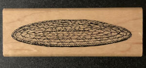Art Impressions Woven Rug Rubber Stamp